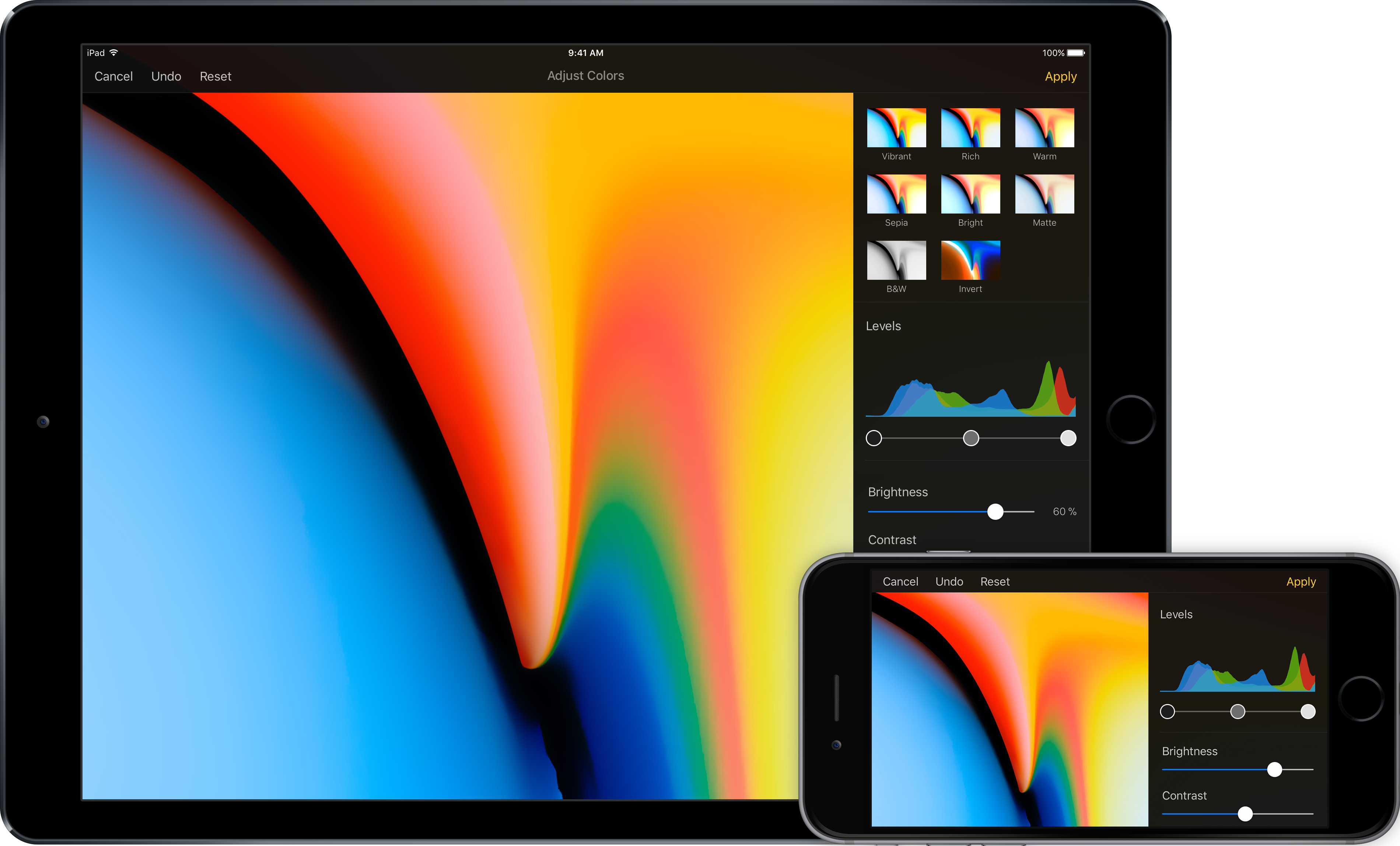 Pixelmator for iOS 2.4 Cobalt adds support for iOS 11 Image